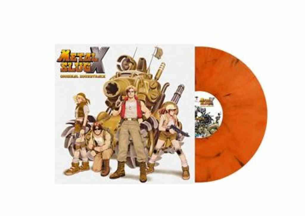 Metal Slug X Edition Limitée Vinyle Orange Marbré 1