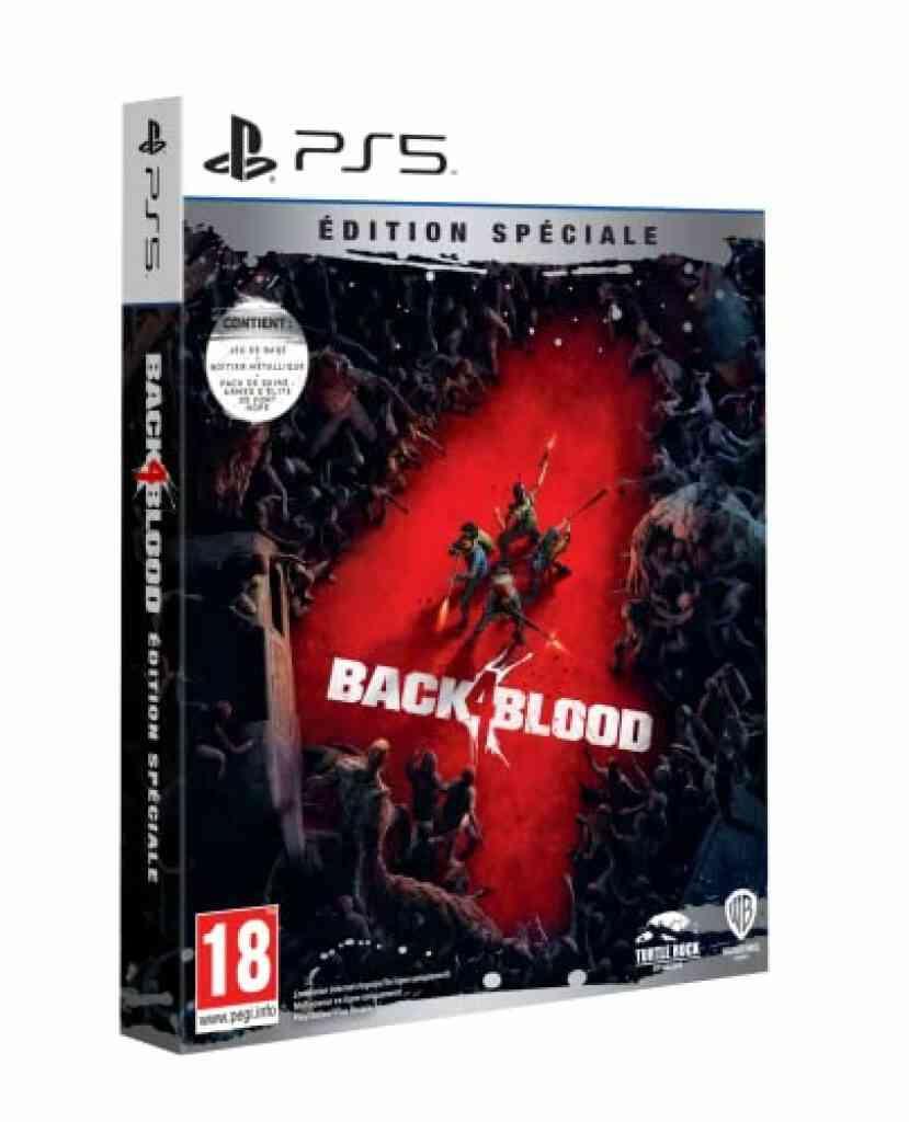 Jeu PS5 Warner BACK 4 BLOOD - ED SPECIALE P5 1