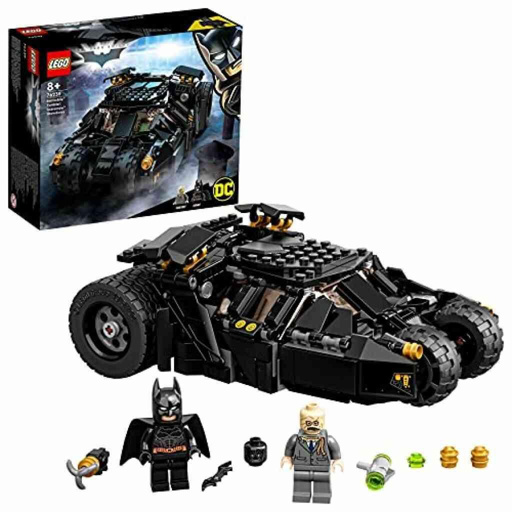 LEGO® 76239 DC Batman La Batmobile™ Tumbler : La Confrontation avec l'Épouvantail, Jouet Voiture pour Enfants dès 8 ans 1